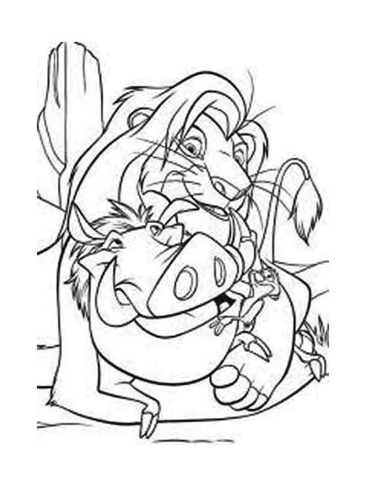 ausmalbilder könig der löwen  malvorlagen kostenlos zum