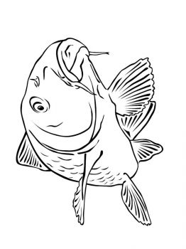 Carp-coloring pages-9