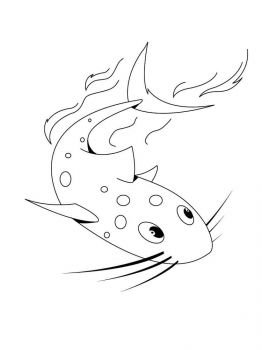 Catfish-coloring pages-11