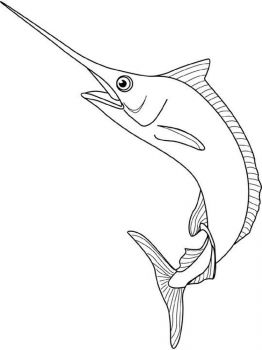 Marlin-coloring pages-1