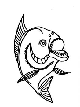 Piranhas-coloring pages-1