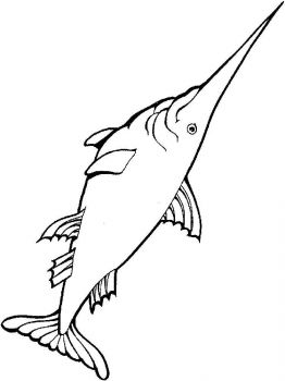Swordfish-coloring pages-6