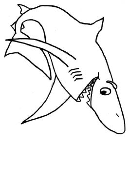 coloring-pages-animals-sharks-3