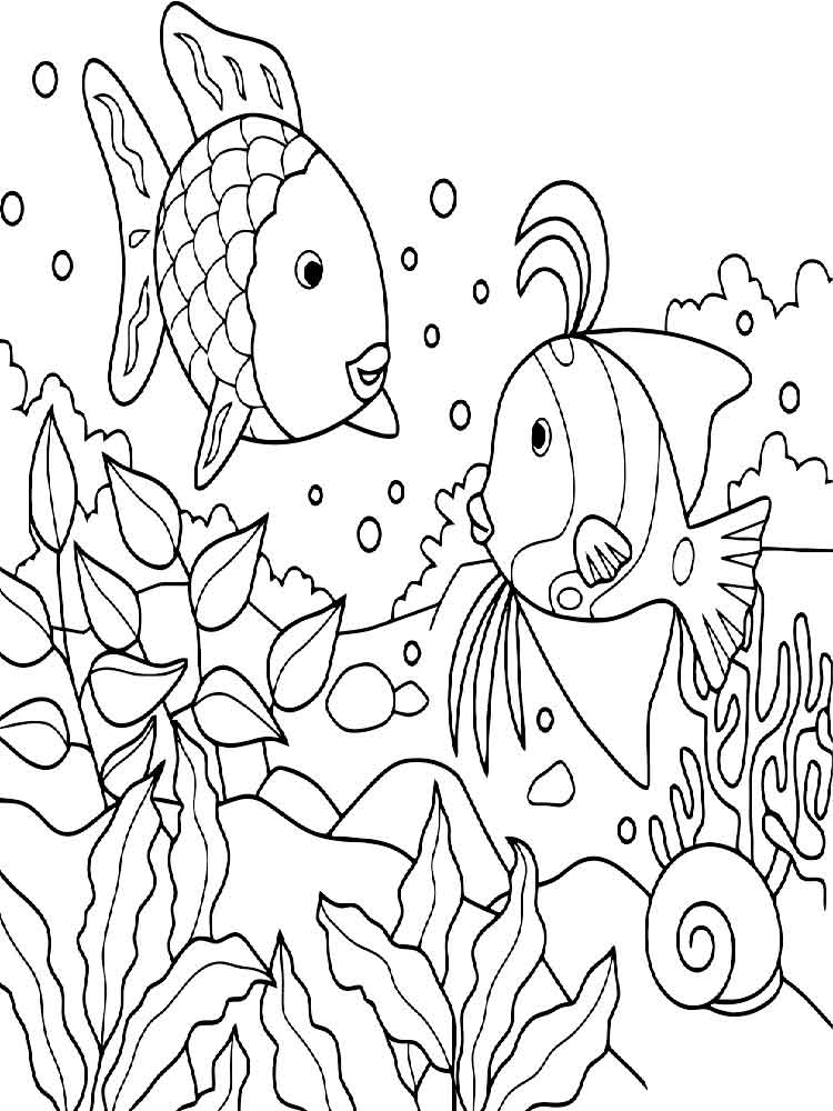 malvorlagen unterwasserwelt - ausmalbilder kostenlos zum