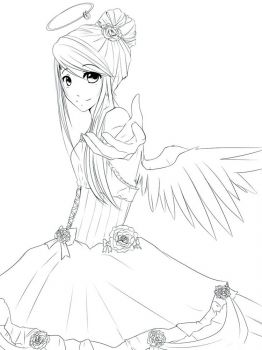 Anime-Angels-coloring-pages-6