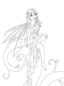 Anime-Fairy-coloring-pages-1