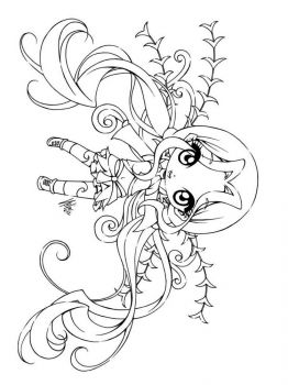 Anime-Fairy-coloring-pages-2