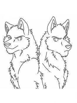 Anime-wolf-coloring-pages-4