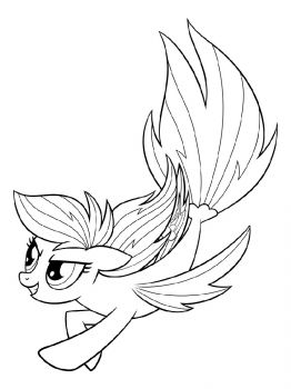 Mermaid-pony-coloring-pages-8