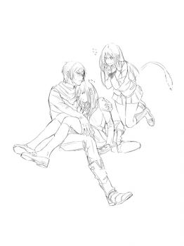 Noragami-coloring-pages-1