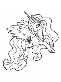 Princess-Celestia-coloring-pages-1