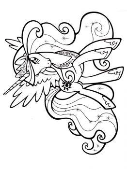 Princess-Celestia-coloring-pages-2