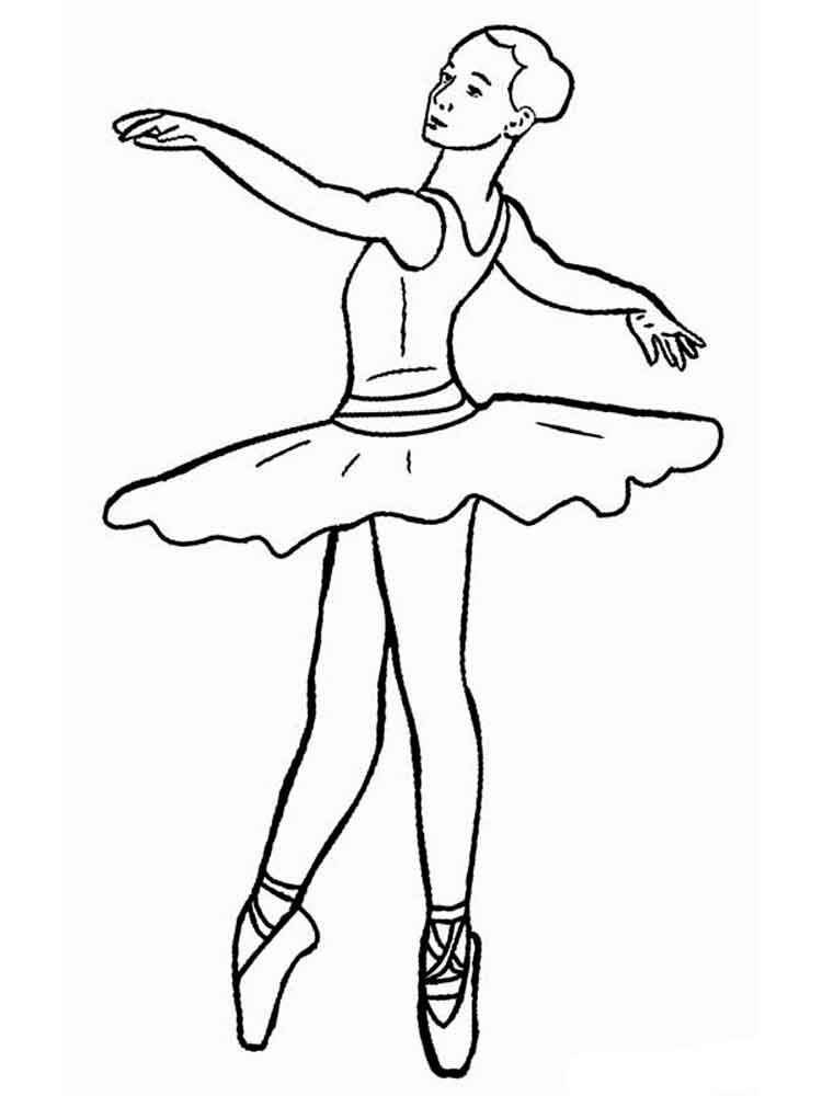 - Free Printable Ballet Coloring Pages For Kids