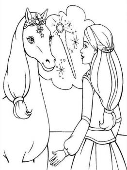 barbie-and-horse-coloring-pages-1