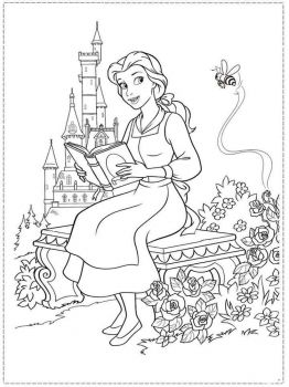 beauty-and-the-beast-coloring-pages-21