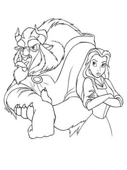 beauty-and-the-beast-coloring-pages-27