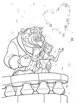 beauty-and-the-beast-coloring-pages-9