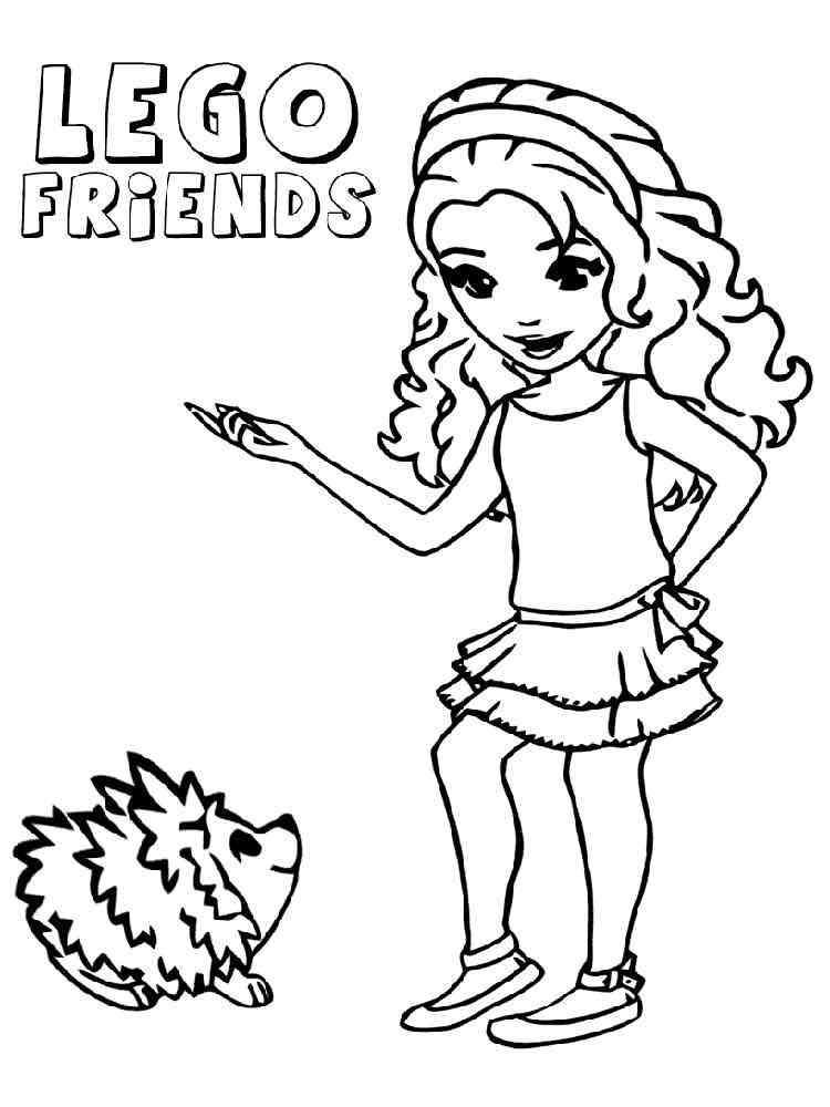 ausmalbilder lego friends  malvorlagen kostenlos zum