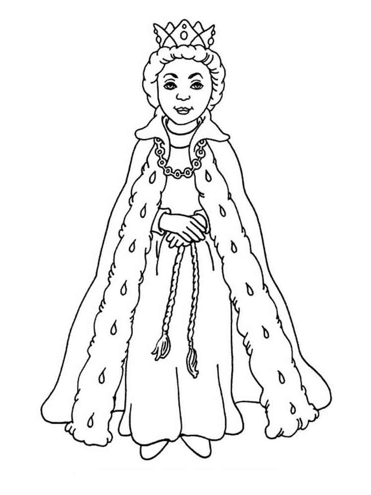 ausmalbilder königin  malvorlagen kostenlos zum ausdrucken