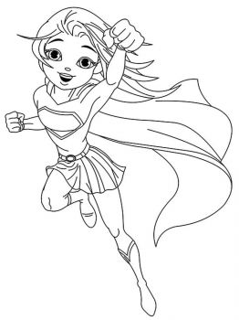 supergirl-coloring-pages-1