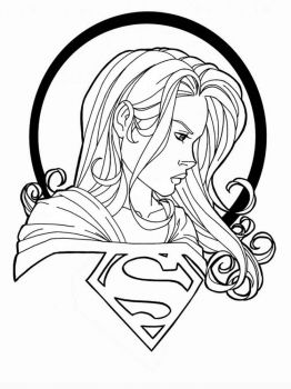 supergirl-coloring-pages-9