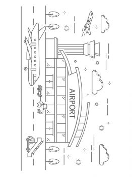 Airport-coloring-pages-2