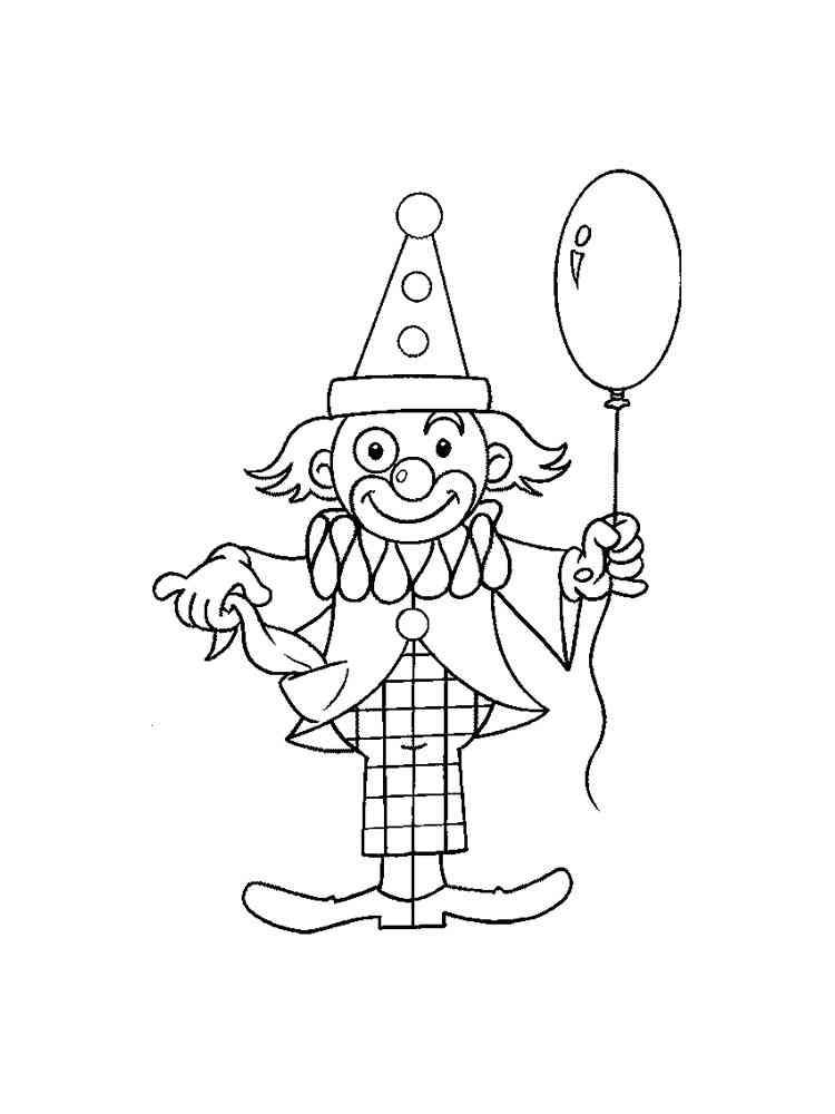 malvorlagen clown  ausmalbilder kostenlos zum ausdrucken