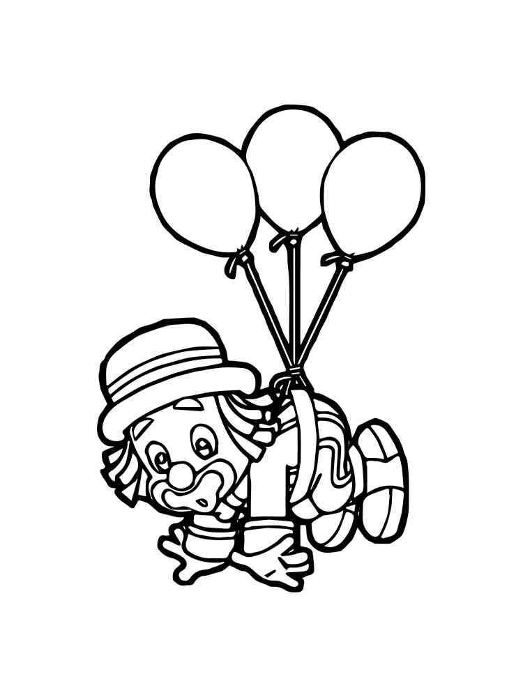 malvorlagen clown schablone zum ausdrucken kostenlos  99