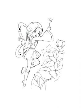 Fairy-coloring-pages-9