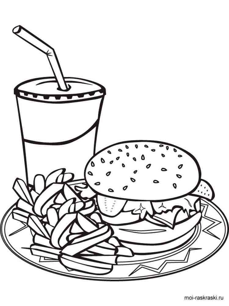 malvorlagen essen  ausmalbilder kostenlos zum ausdrucken