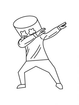 Fortnite-Marshmello-coloring-pages-17