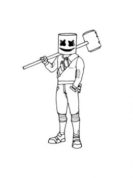 Fortnite-Marshmello-coloring-pages-18