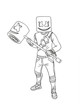 Fortnite-Marshmello-coloring-pages-19