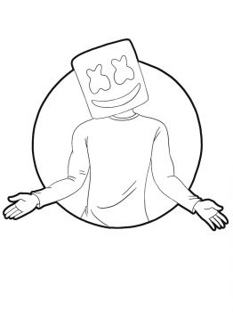 Fortnite-Marshmello-coloring-pages-20