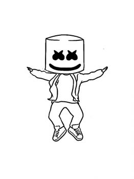 Fortnite-Marshmello-coloring-pages-21