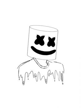 Fortnite-Marshmello-coloring-pages-23
