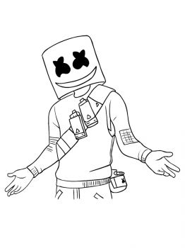 Fortnite-Marshmello-coloring-pages-24