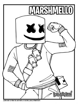 Fortnite-Marshmello-coloring-pages-25