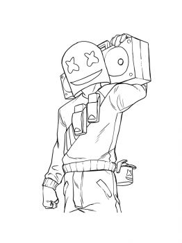 Fortnite-Marshmello-coloring-pages-27