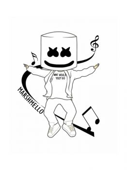 Fortnite-Marshmello-coloring-pages-28