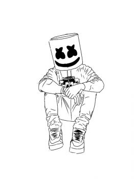 Fortnite-Marshmello-coloring-pages-29