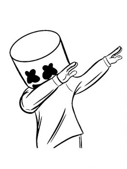 Fortnite-Marshmello-coloring-pages-32