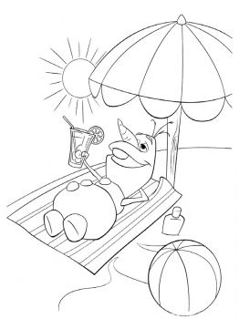 Frozen-Olaf-coloring-pages-7