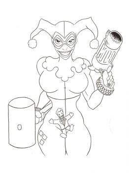 Harley-Quinn-coloring-pages-12
