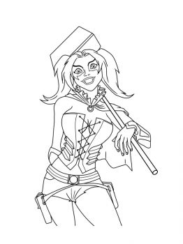 Harley-Quinn-coloring-pages-9