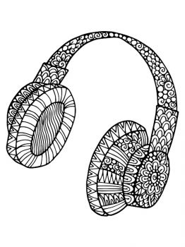 Headphones-coloring-pages-19