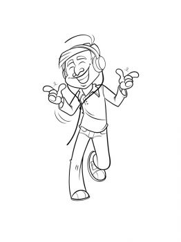 Headphones-coloring-pages-20