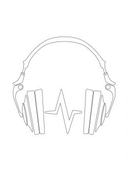 Headphones-coloring-pages-27