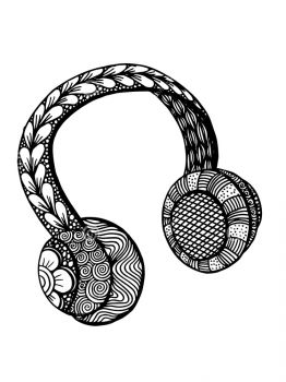Headphones-coloring-pages-28