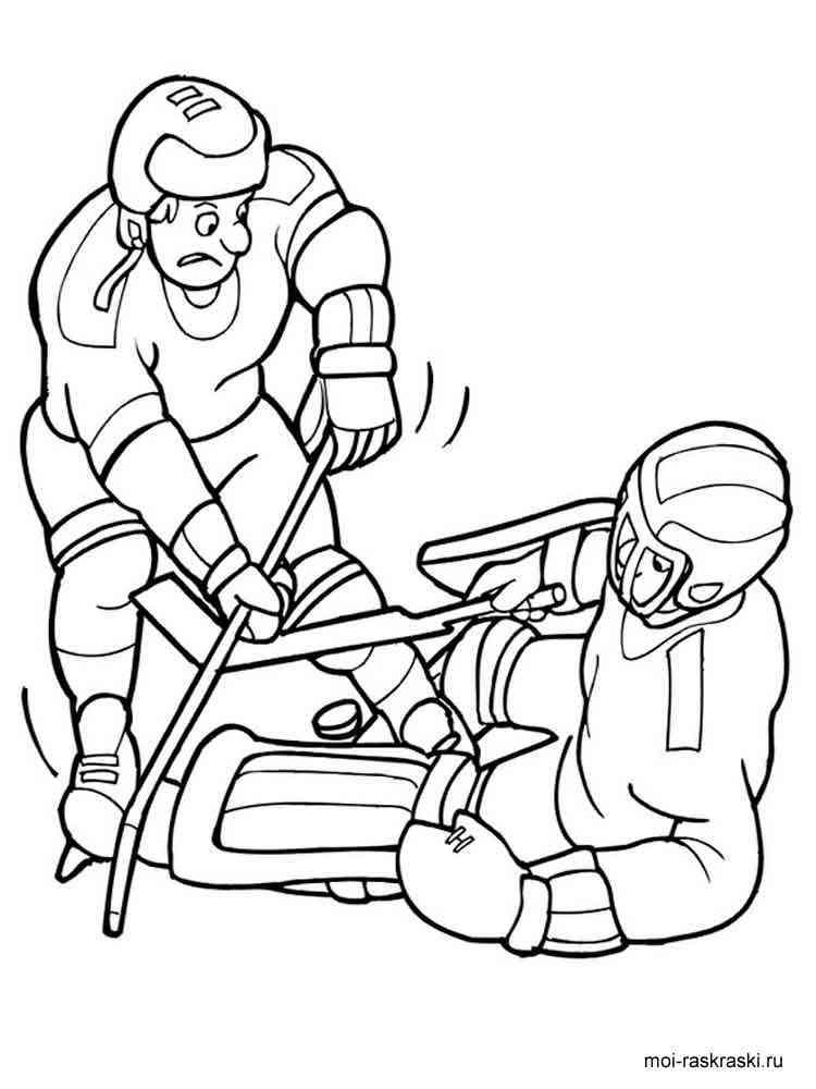 malvorlagen hockey  ausmalbilder kostenlos zum ausdrucken